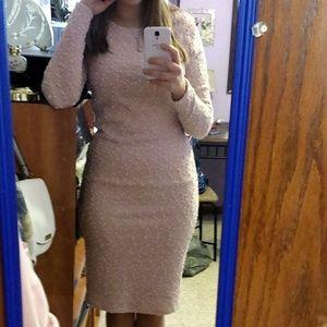 Blush Pink Jennifer Lopez Dress